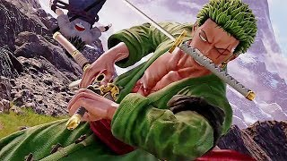 Gameplay - Sasuke vs Zoro