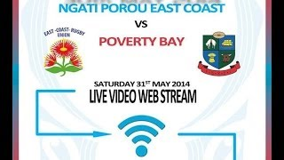 preview picture of video 'East Coast vs Poverty Bay - Virtual Match - Full Match'