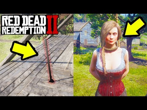 WHAT HAPPENS IF WE PULL THIS LEVER? CAN WE SAVE THIS PRINCESS in Red Dead Redemption 2!