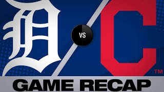 Kipnis, Indians Rally Past Tigers In 7-6 Win  | Tigers-Indians Game Highlights 6/21/19