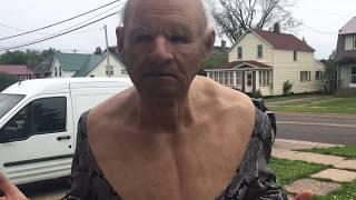 Seducing Older Women While Wearing  a Grandpa Mask - Karaoke Cringe