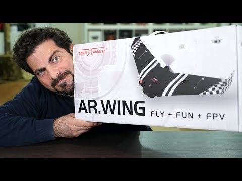 aereo-sonicmodell-ar-wing--unboxing--parte-1