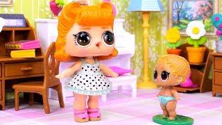 Куклы ЛОЛ СМЕШНЫЕ ВИДЕО 11 Мультики Игрушки и Сюрпризы LOL с Лалалупси Вероника