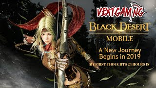 Black Desert Mobile | Soft Launch My First Thoughts | Pearl Abyss I'm Impressed!