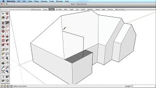SketchUp Training Series: Inference Locking Example
