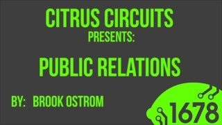 2015 Fall Workshops - Public Relations