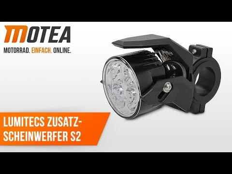 Motorrad Zusatzscheinwerfer LED Lumitecs S2 mit E Zulassung