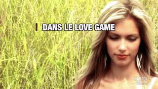 """LoveGame in the Style of """"Lady Gaga"""" karaoke video with lyrics (no lead vocal)"""
