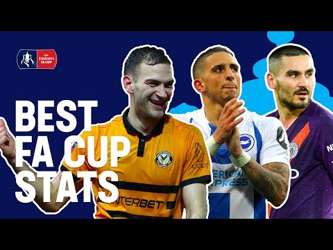 Best FA Cup Stats This Year! | Emirates FA Cup 18/19
