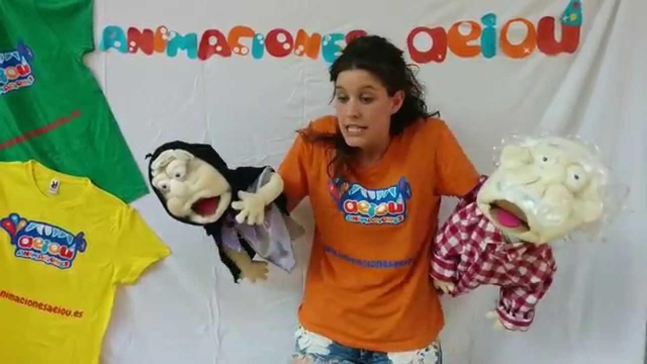 Títeres infantiles de goma espuma para niños