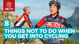 9 Things Not To Do When You're New To Road Cycling