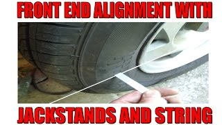 Easy Front End Alignment, no special tools