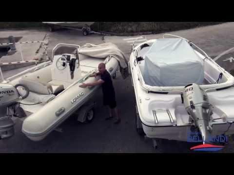 Video che pesca su un donka nella primavera