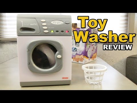 CASDON Toy Washing Machine Review – 18650 upgraded