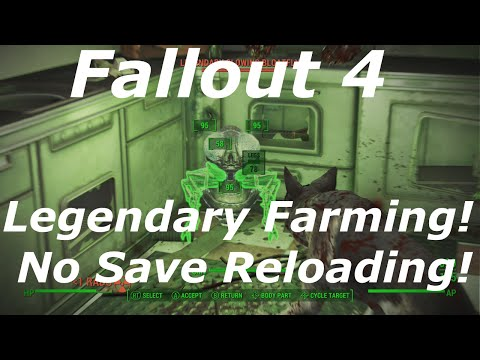 Fallout 4 Legendary Farming Guide! Unlimited Legendary Weapons, Armor & Enemies! No Save Reloading!