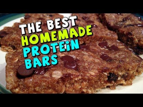 Η καλύτερη συνταγή για μπάρες πρωτεΐνης