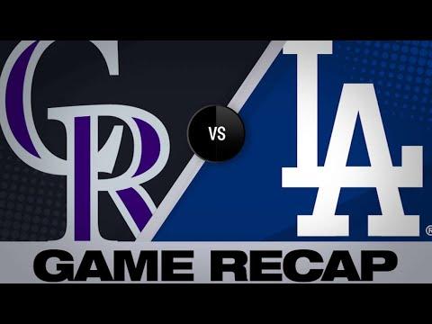 Buehler K's 16, Beaty walks it off | Rockies-Dodgers Game Highlights 6/21/19