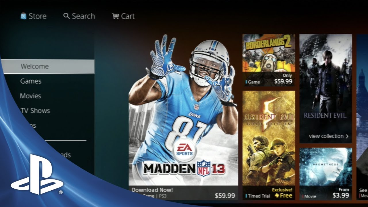 Take a Look Inside the New PlayStation Store
