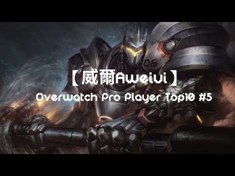 【威爾Aweiui】Overwatch Pro Player Top10 #6 feat.觀眾和自己