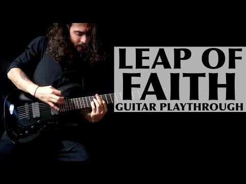 "This is one of my favorite compositions, ""Leap of Faith.""  This song was written as a reminder to believe in yourself, to achieve anything!"