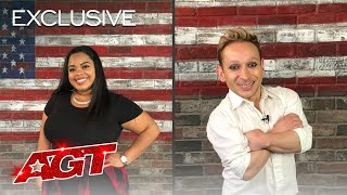 Alan Silva and Shaquira McGrath Reflect On The Judges' Comments - America's Got Talent 2020