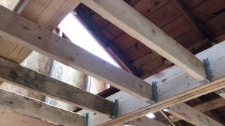 Roof Work and Beams