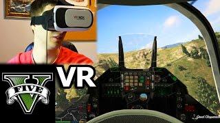 GTA V - Testing the 20$ VR Headset [VR Box]