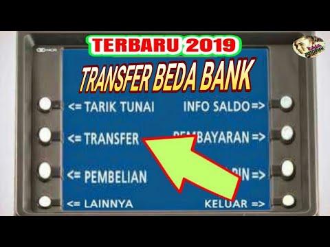 CARA TRANSFER UANG LEWAT ATM BRI KE BANK LAIN
