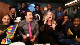 Adele & Jimmy Fallon & The Roots - Hello (Classroom Instruments)