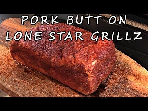 Smoked Pork Butt on Lone Star Grillz 20 inch Offset Smoker
