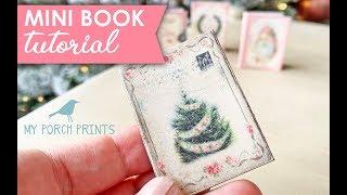 Mini Book Tutorial | My Porch Prints