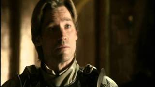 Game of Thrones: Lord Eddard chides Kingslayer