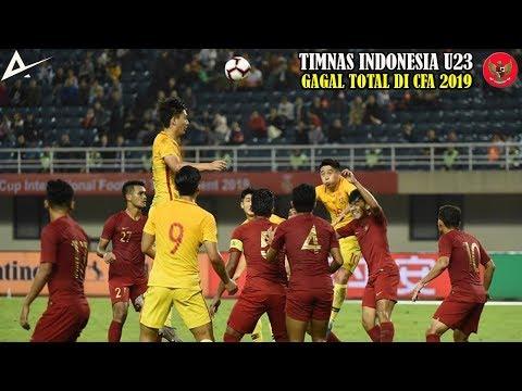 Timnas Indonesia U23 Menghuni Juru Kunci di CFA International Tournament 2019.!!