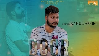 Door (cover Song)  Rahul Appie