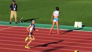 2017.8.2 山形インターハイ 女子 4×400mR 決勝