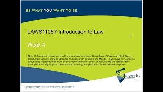 LAWS11057_04_2019 Introduction to Law by John Milburn.