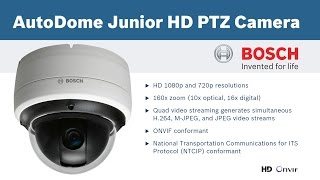 preview picture of video 'Bosch Junior Autodome HD PTZ Camera - Testing PTZ functionality in Nicosia, Cyprus'