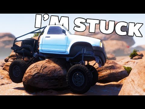 AWESOME PHYSICS AND OFF-ROAD CRASHES! - Pure Rock Crawling Gameplay