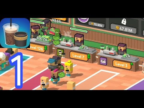 Idle Coffee Corp - Gameplay Walkthrough Part 1 (iOS, Android)