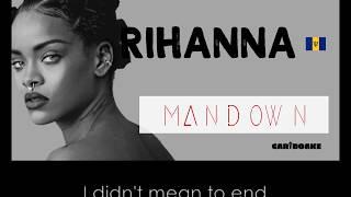 Rihanna   Man Down (Reggae Lyrics Provided By Cariboake The Official Karaoke Event)