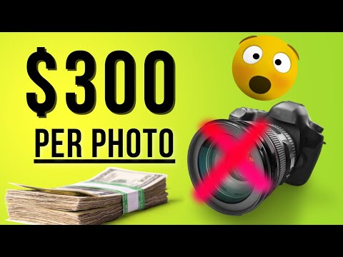 How To SELL PHOTOS Online and Make Money FOR FREE  - EARN $200+ per image