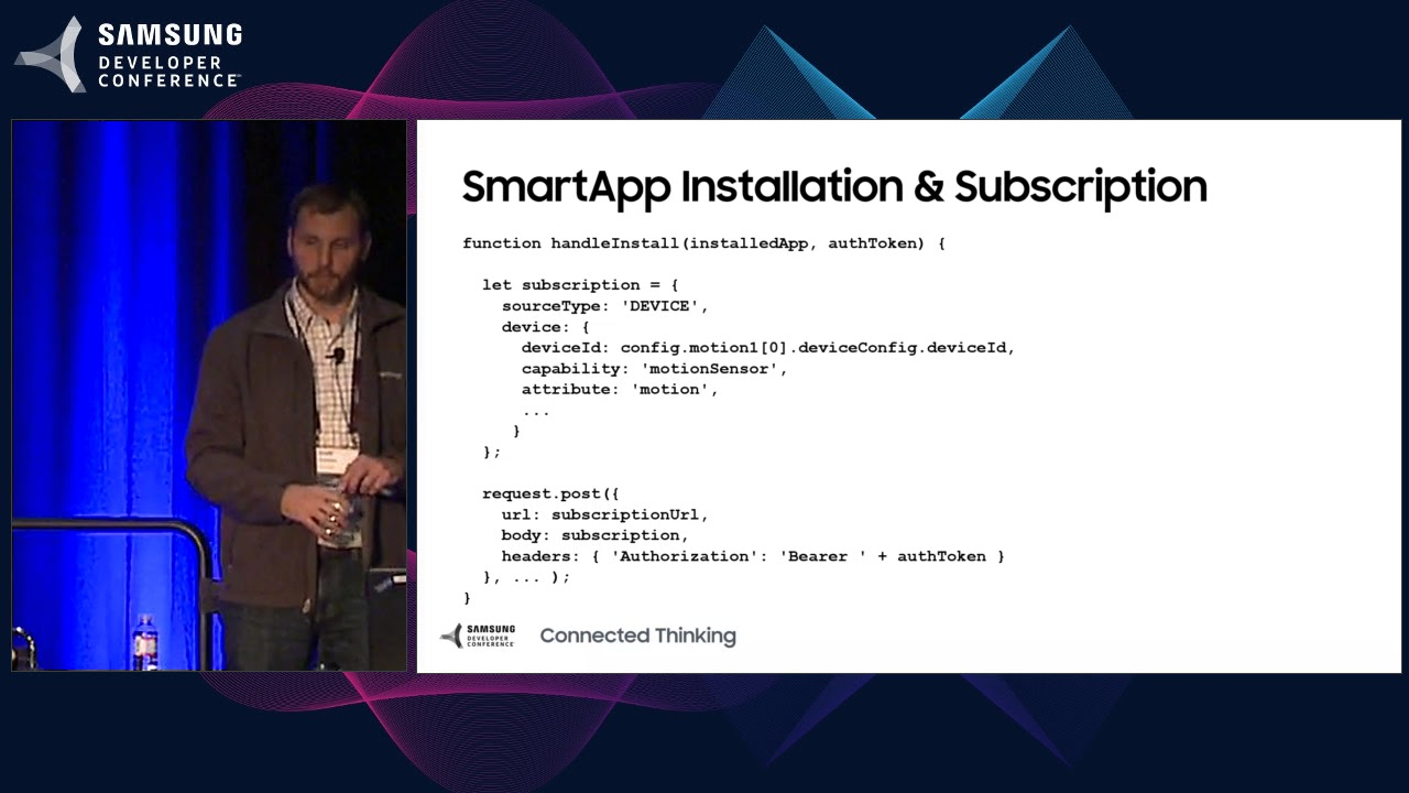 SDC 2017 Session: Automate Your World: Creating New Apps for the SmartThings Ecosystem thumbnail