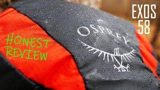 Osprey Exos 58 / Basalt Black - відео 2