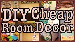 DIY: Cheap Room Decor!