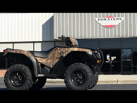 2021 Honda FourTrax Foreman Rubicon 4x4 Automatic DCT EPS Deluxe in Greenville, North Carolina - Video 1
