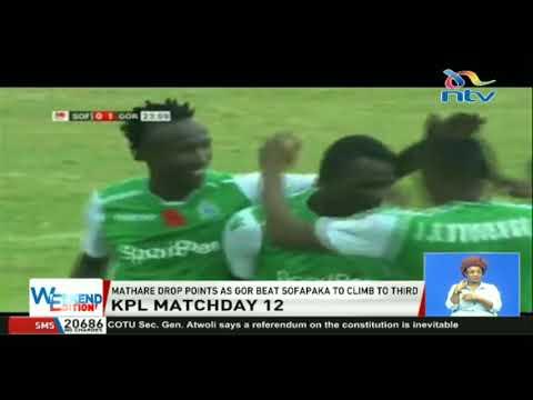 KPL: Mathare United drop points as Gor Mahia beat Sofapaka