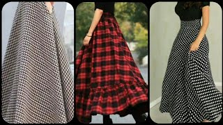 #tranding Skirt  Very Stylish And Beautiful On Trand Long Skirts Designs For Girls And Women 2019