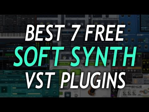 Best FREE Synth VST Plugins | Top 10 (2018) - смотреть