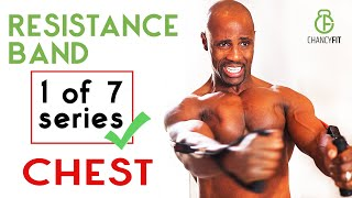 RESISTANCE BAND WORKOUT | FOR BIG CHEST | FITBEAST