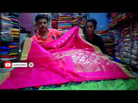 How To Wear Handloom Heavy Saree Perfectly | Party Sari Draping Idea To Look Slim | Wholesale Saree
